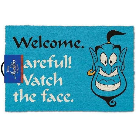 PYRAMID POSTERS - Pyramid Posters Disney Aladdin Watch The Face Doormat (40 x 60 cm)