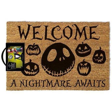 PYRAMID POSTERS - Pyramid Posters Nightmare Before Christmas A Nightmare Awaits Doormat (40 x 60 cm)