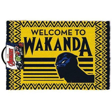 PYRAMID POSTERS - Pyramid Posters Marvel Black Panther Welcome To Wakanda Doormat (40 x 60 cm)