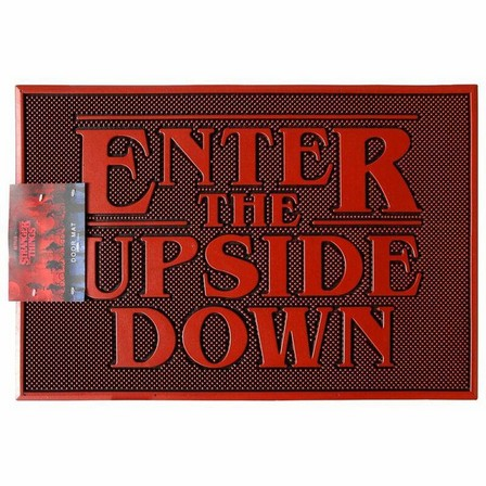 PYRAMID POSTERS - Pyramid Posters Stranger Things Upside Down Rubber Doormat (40 x 60 cm)
