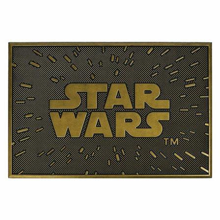 PYRAMID POSTERS - Pyramid Posters Star Wars Logo Rubber Doormat (40 x 60 cm)