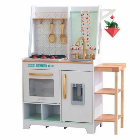 KIDKRAFT - Kidkraft Boho Bungalow Wooden Play Kitchen
