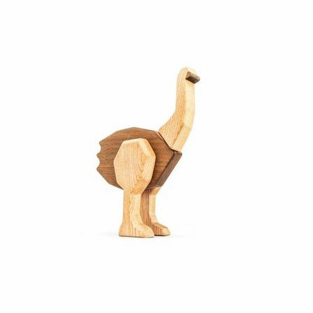 FABLEWOOD - Fablewood The Big Ostrich Magnetic Wooden Figure