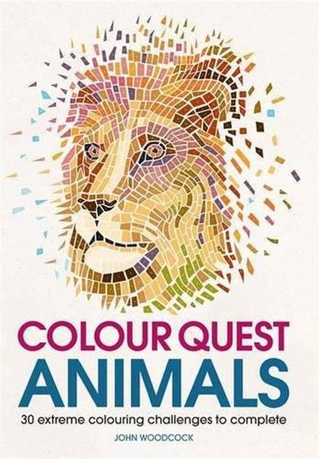 MICHAEL O'MARA - Colour Quest Animals