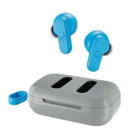 SKULLCANDY - Skullcandy Dime Light Grey/Blue True Wireless In-Ear Earphones