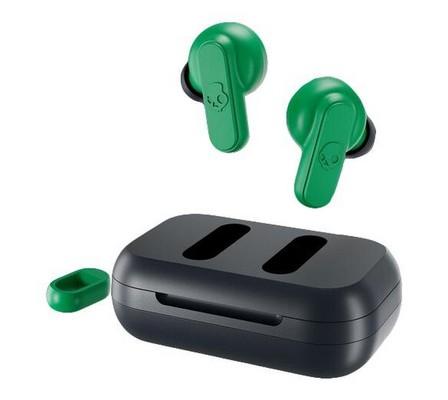 SKULLCANDY - Skullcandy Dime Dark Blue/Green True Wireless In-Ear Earphones