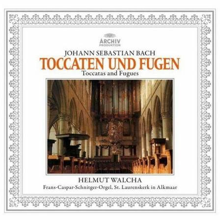 UNIVERSAL MUSIC - J.S. Bach Toccata and Fugue/BWV 565/BWV 540/BWV 538 & BWV 564 | Helmut Walcha