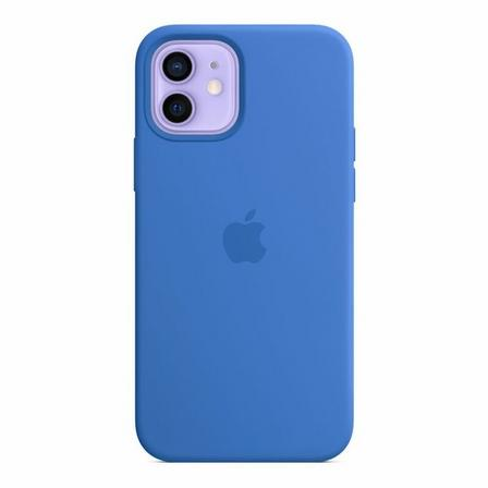 APPLE - Apple Silicone Case with MagSafe Capri Blue for iPhone 12 Pro/12
