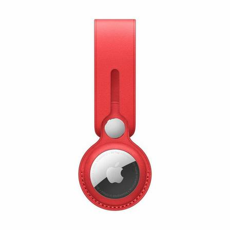 APPLE - Apple Airtag Leather Loop (Product)Red
