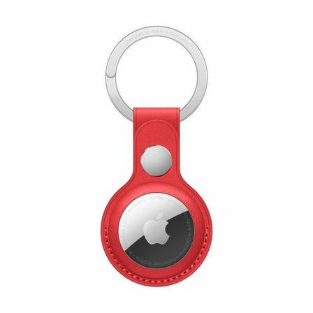 APPLE - Apple Airtag Leather Key Ring (Product)Red