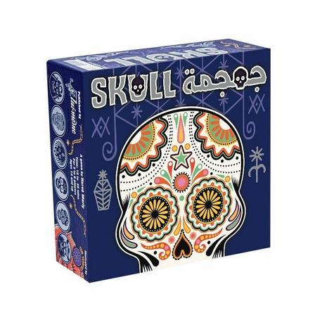 SPACE COWBOYS - Space Cowboys Skull Board Game [Arabic/English]