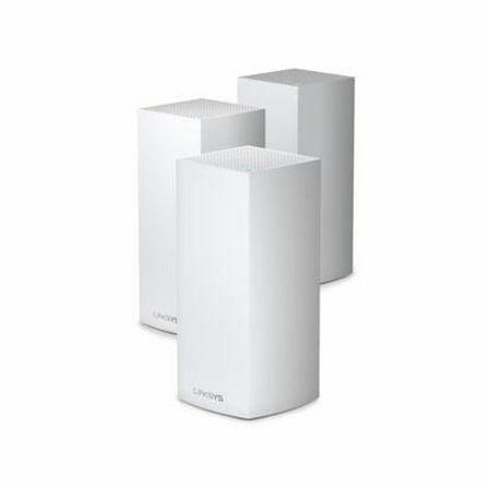 LINKSYS - Linksys Velop Whole Home Intelligent Mesh Wi-Fi 6 (Ax4200) System Tri-Band Pack of 3 White