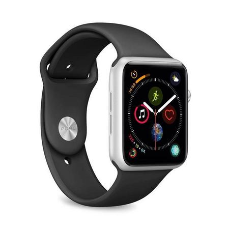 PURO - Puro Silicone Band 42-44mm Black for Apple Watch