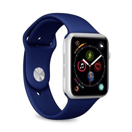 PURO - Puro Silicone Band 42-44mm Dark Blue for Apple Watch