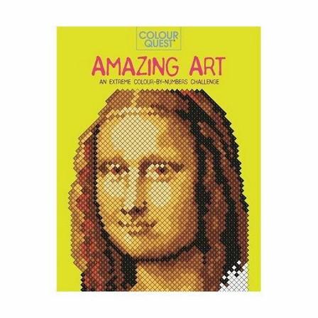 MICHAEL O'MARA - Colour Quest Amazing Art