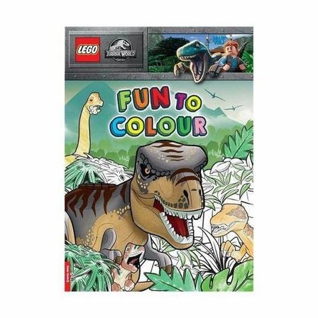 BUSTER BOOKS UK - Lego Jurassic World Fun To Colour