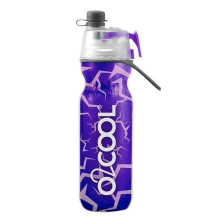 O2COOL - O2Cool Classic Elite Mist N Sip Insulated Articsqueeze 20 oz Marble Purple