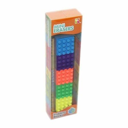 KEYCRAFT - Keycraft Building Blocks Erasers
