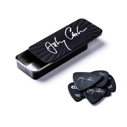 JIM DUNLOP - Jim Dunlop Johnny Cash Signature Guitar Pick Tin [6 Picks]