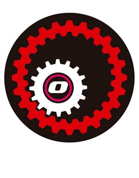 NIKIDOM - Nikidom Pair Of Wheel Mechanic Stickers