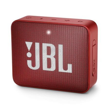 JBL - JBL GO 2 Red Portable Bluetooth Speaker