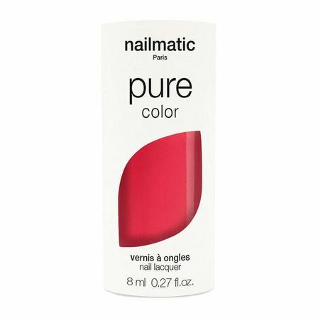 NAILMATIC - Nailmatic Pure Emiko Nail Polish Intense Coral Pink