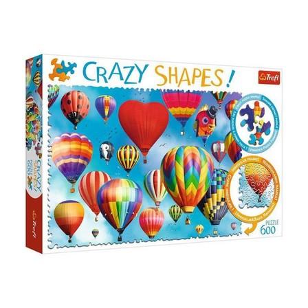 TREFL - Trefl Colourful Balloons Crazy Shapes 600 Pcs Jigsaw Puzzle
