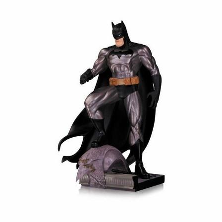 DIAMOND COMICS - Diamond Comics Batman Metallic By Jim Lee 6.5 Inch Statue