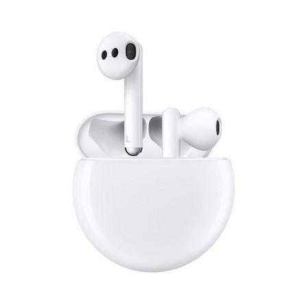 HUAWEI - Huawei FreeBuds 3 Noise-Cancelling Earphones Ceramic White