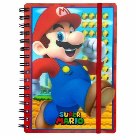 PYRAMID POSTERS - Super Mario 3D Lenticular A5 Notebook