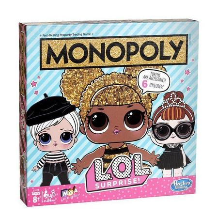 HASBRO - Hasbro Monopoly L.O.L. Surprise Edition