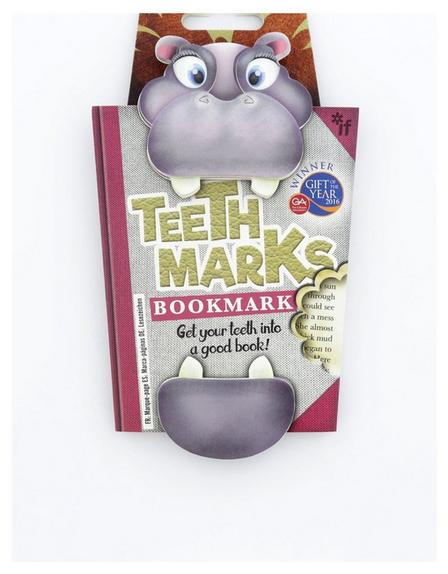 THAT COMPANY CALLED IF - Teeth-Marks Bookmarks Hippo