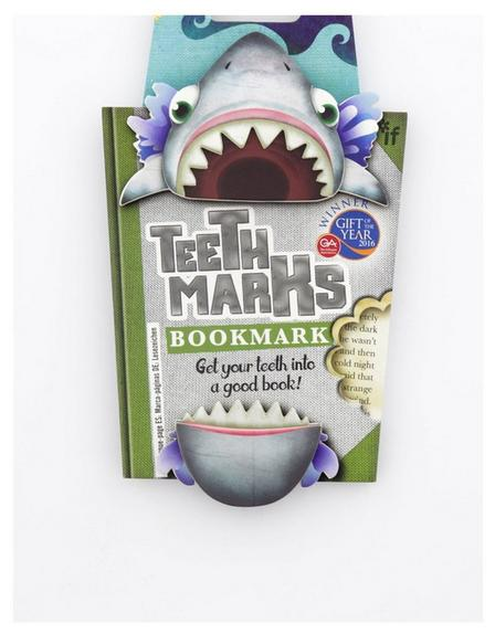 THAT COMPANY CALLED IF - Teeth-Marks Bookmarks Shark