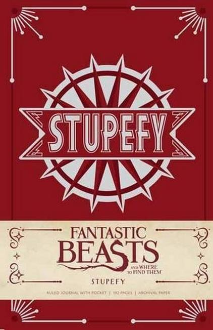 SIMON & SCHUSTER USA - Fantastic Beasts and Where to Find Them Stupefy Hardcover Ruled Journal