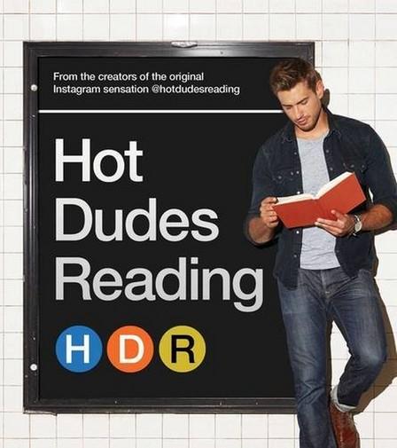 SIMON & SCHUSTER USA - Hot Dudes Reading