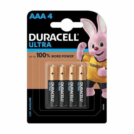 DURACELL - Duracell Ultra Aaa Alkaline Battery 4X 32055