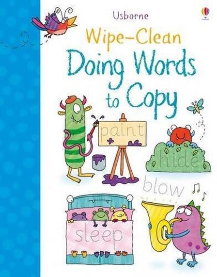 USBORNE PUBLISHING LTD UK - Wipe-Clean Doing Words to Copy