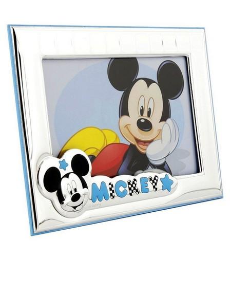 DISNEY - Disney Mickey Mouse Landscape Photo Frame Silver/Blue [9x13cm]