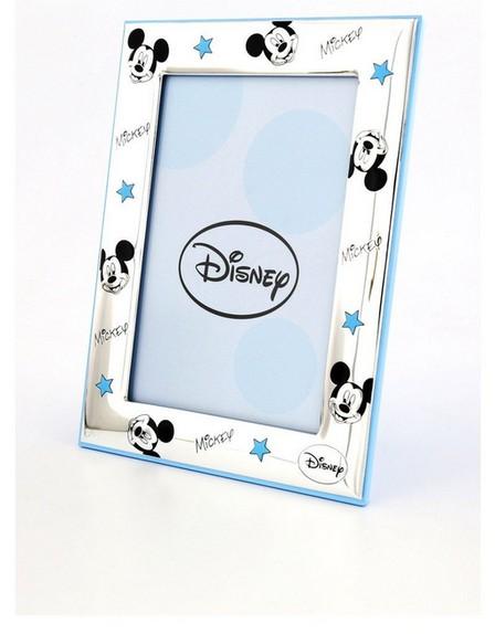 DISNEY - Disney Mickey Mouse Portafoto Frame Silver/Blue [9x13cm]