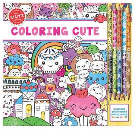 KLUTZ PRESS INC USA - Coloring Cute