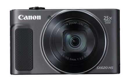 Canon - Canon PowerShot SX620 HS Compact Camera Black 20.2MP 1/2.3 Inch CMOS