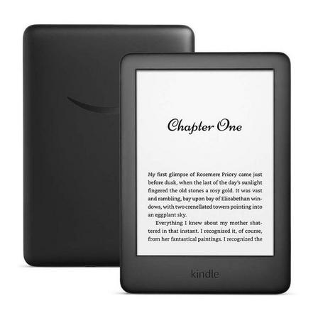 AMAZON - Amazon Kindle E-Reader 6-Inch Wi-Fi Black with Built-in Light [10th Gen]