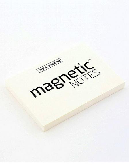 MAGNETIC STICKY NOTES - Magnetic Notes White S