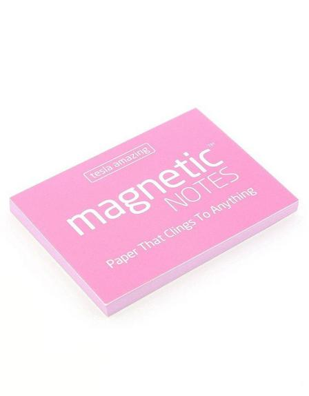 MAGNETIC STICKY NOTES - Magnetic Notes Pink S