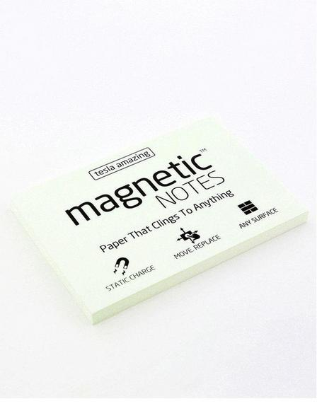 MAGNETIC STICKY NOTES - Magnetic Notes White M
