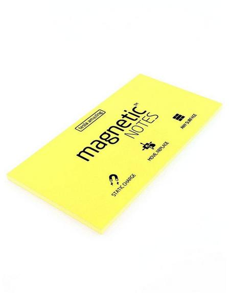 MAGNETIC STICKY NOTES - Magnetic Notes Yellow L