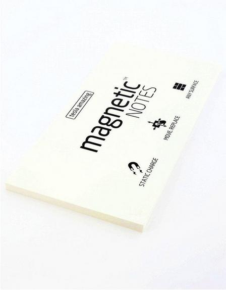 MAGNETIC STICKY NOTES - Magnetic Notes White L