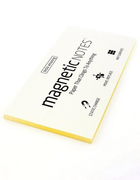 MAGNETIC STICKY NOTES - Magnetic Notes Transparent L
