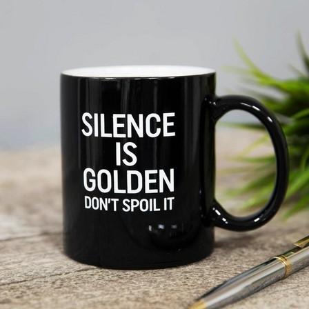 HARVEY MAKIN - Harvey Makin Silence Is Golden Mug