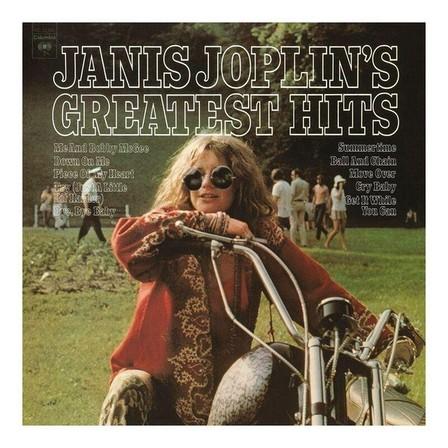 COLUMBIA - Janis Joplin's Greatest Hits Re-Issue 2018   Janis Joplin